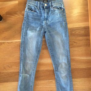 urban outfitters high rise cut off jeans